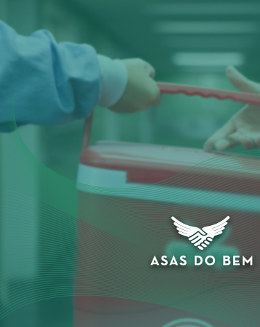 Asas do bem - campanha de doação de órgãos