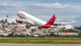 Decolagem do Airbus A330 da Avianca