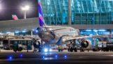 Olhar Noturno do A320 da LATAM