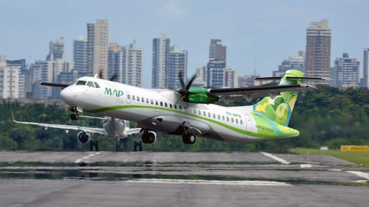 Voando a Amazônia