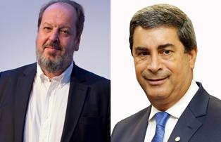Da esquerda para a direita: Presidente da ABEAR, Eduardo Sanovicz e deputado Coronel Tadeu (PSL/SP) (Crédito: Tiago Ribeiro e Câmara/Divulgação)